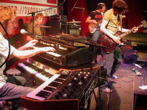 The Sheer live in Club 3VOOR12, 17-3-2004