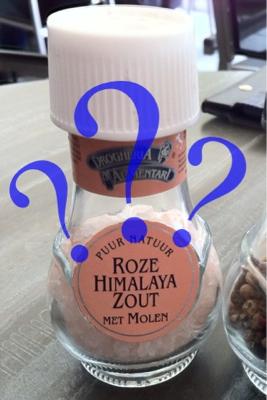 Roze Himalaya Zout ???