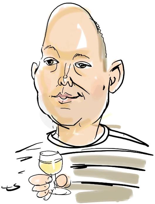Karikatuur Paul